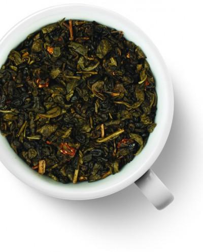 Чай Gutenberg зеленый аромат. Земляничный десерт, 100 гр.