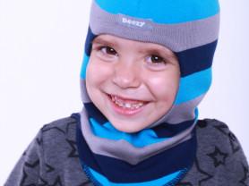 Шапка шлем на мальчика динозавр Beezy-аналог Kivat