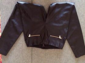 кожаные брюкиы