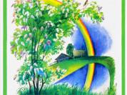 Соловушка. Стихи о природе худ. Морковкина