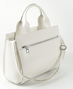Женская кожаная сумка 6049 Вайт