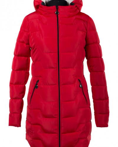05-1356 Куртка зимняя (Синтепух 300) Плащевка Красный