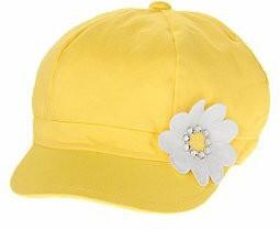 Желтая кепи Crazy р. М (7-8)