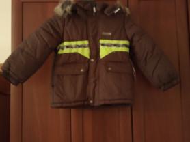 Новая зимняя куртка Кerry для мальчика р 104