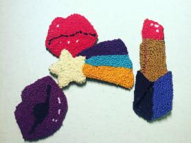 Стильные брошки (handmade)
