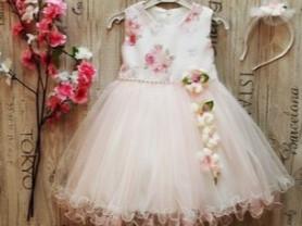 Нарядное,праздничное платье + ободок.