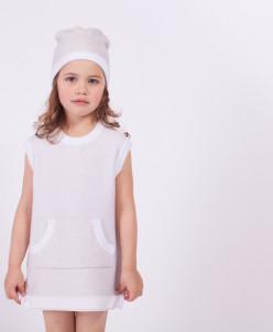 """MIRACLE"" Платье для девочки ZG 39005-V"
