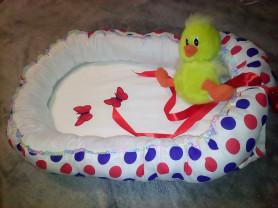 НОВОЕ. Кокон (гнездышко) для новорожденных