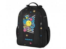 НОВЫЙ Молодежный рюкзак Herlitz Be.bag Smiley Worl