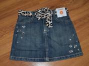 Новая джинсовая юбка gymboree 3-5 лет до 116 см