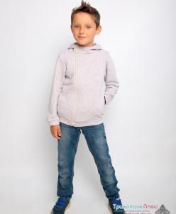 Толстовка детская Кевин (петельчатый футер, 3-х нитка)