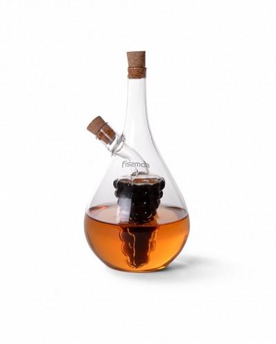 9441 FISSMAN Бутылочка 50/500 мл для масла и уксуса 2-в-1 (с
