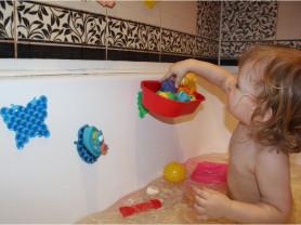 полоски липучки для ванной