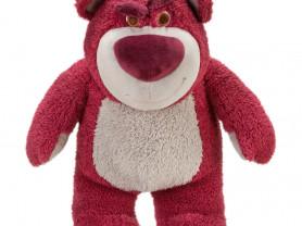 Плюшевый медведь Лотсо, пахнет клубникой. Disney