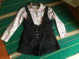 Шорты и блузка на 116-122