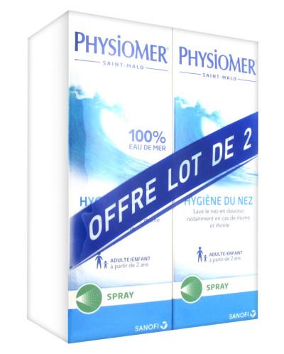 Гинекологический спрей Physiomer Nasal 2 x 135ml
