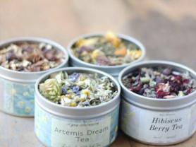 травяной чай для красивой кожи
