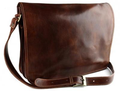 Сумка-портфель мужская из телячьей кожи