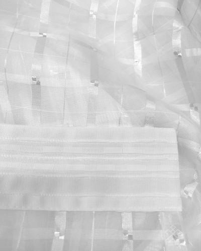 Дрезден вуаль белая арт.16018