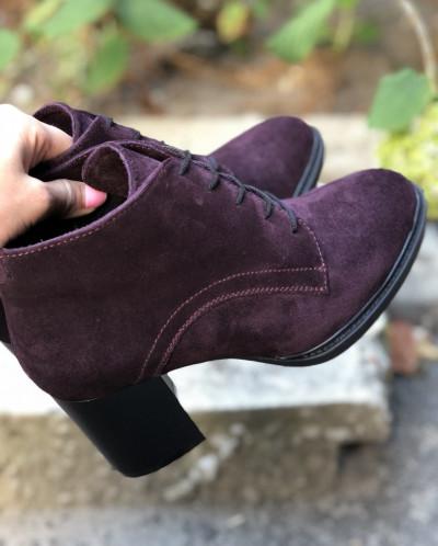 Замшевые ботинки. New collection