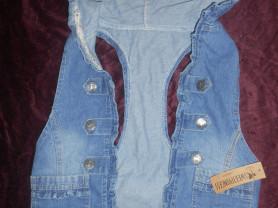 новая джинсовая жилетка 42-44