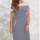 Платья Модель 8123 оттенки серого VITTORIA QUEEN      Произв