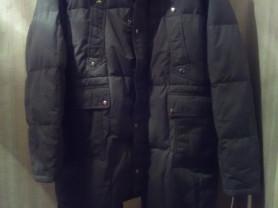 Новое мужское пуховое пальто, пуховик, куртка зимн
