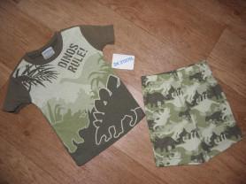пижама (США) футболка и шорты 18-24 мес