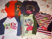 Джемпера-футболки с длинным рукавом р. 122 (5штук