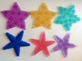 набор мини-ковриков Морские звезды.