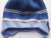 Зимняя шапка для мальчика 54-56 размер