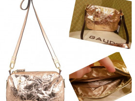 Новая стильная кожаная сумка Италия