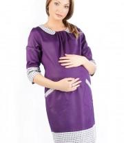 Платье для беременных с накладными карманами  ново