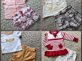 Красивая одежда для маленькой принцессы р.74