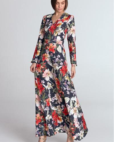 Платье NIFE S119 макси