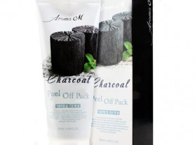 Маска-пленка угольная Charcoal Peel Off Pack