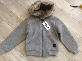 новая куртка толстовка Molo, р 122