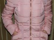 Куртка с кулиской на талии розовая новая