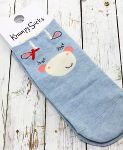 "Короткие женские носки ""Blue series"""
