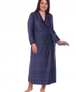 Халат женский Флоранс (3260). Расцветка: мелкий горох