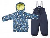 Куртка и полукомбинезон Tokka Tribe темный с пингв