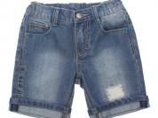 Новые джинсовые шорты Play Today, 116-122 см