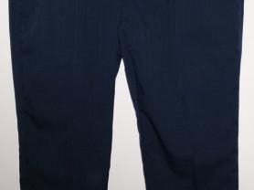 Брюки мужские синие плотные - р.54-56