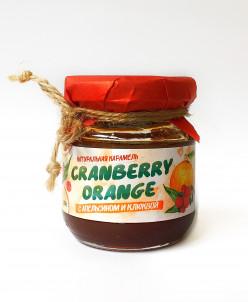 Мягкая карамель Апельсин+клюква 120гр Cranberry orange caram