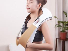 Массажёр для шеи и плеч. работает от зарядки