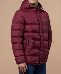 Мужская красная удобная куртка модель 30380