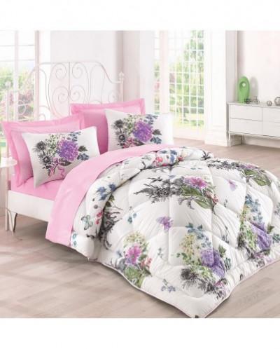 Комплект Постельного Белья с одеялом Евро 2 сп.