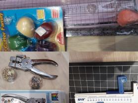 Резак с набором ножей+установщик люверсов