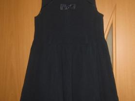 школьный сарафан темно-синего цвета р.128