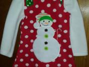 Новогоднее детское платье